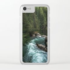 The Lost River - Pacific Northwest Clear iPhone Case