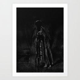 """Crucify my ghost"" Art Print"