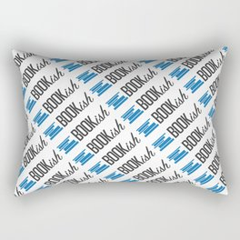 Bookish All Over Rectangular Pillow