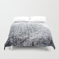 frozen Duvet Covers featuring Frozen  by JMcCool