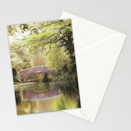 Tranquil Canal at Tamworth Stationery Cards