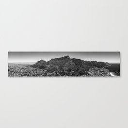 Table Mountain Panorama (Cape Town, South Africa) Canvas Print