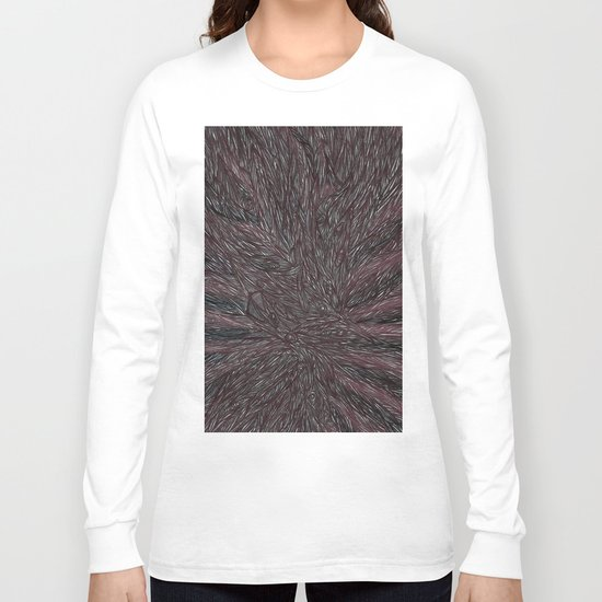 Abstract - Raven Flow. Long Sleeve T-shirt