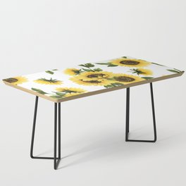 Lovely Sunflower Coffee Table