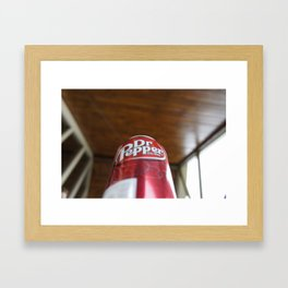 Mmmm....Dr. Pepper Framed Art Print