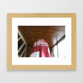 Mmmm....Dr. Pepper Framed Art Print