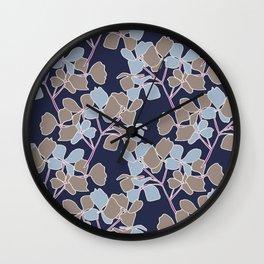 Julip Navy Wall Clock