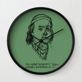 American Hipstory: Ben Franklin Wall Clock