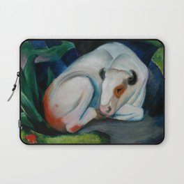 "Franz Marc ""The Steer (also known as The Bull or White Bull)"" Laptop Sleeve"