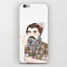 Flock of Beards iPhone & iPod Skin