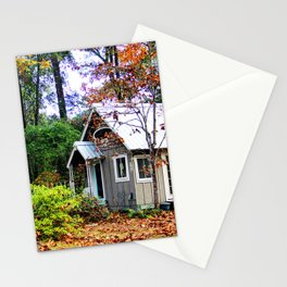 fall abode Stationery Cards