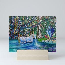 The Unicorn Mini Art Print