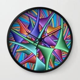 for curtains and more -d- Wall Clock