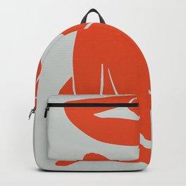 Blue Nude in Orange - Henri Matisse Backpack