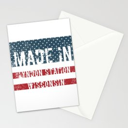 Made in Lyndon Station, Wisconsin Stationery Cards