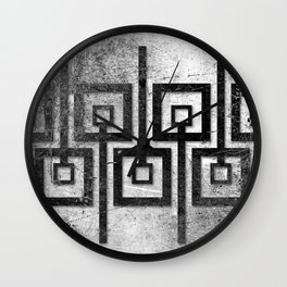 Order in Abstract IV Wall Clock