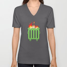 2020 See the World In Flames Unisex V-Neck
