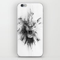 stone iPhone & iPod Skins featuring STONE LION by Alexis Marcou
