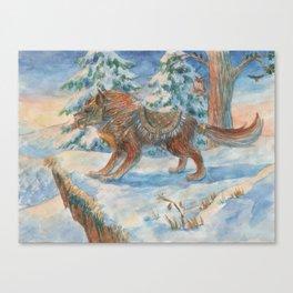 Wild Beast Canvas Print