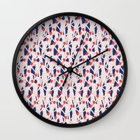 zombies Wall Clocks featuring ZOMBIES by RUEI