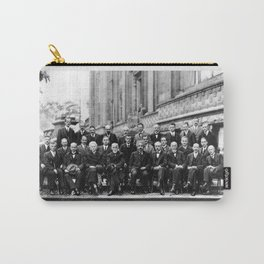 World-Renowned Physicists of 1927 at Solvay Conference Carry-All Pouch