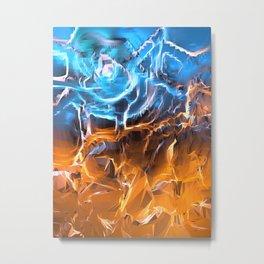Approaching Storm Metal Print