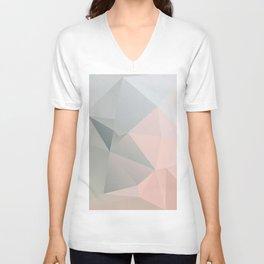 Dora 2 — Poster, scandinavian, art, art print, geometric, pastel, low poly, Christmas, drawings Unisex V-Neck