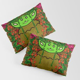 Gnomelorian stand for happy rights in natures color pop-art Pillow Sham