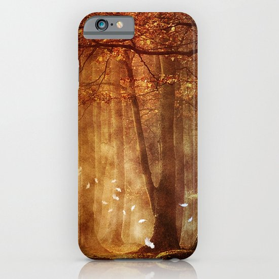 In the woods. iPhone & iPod Case
