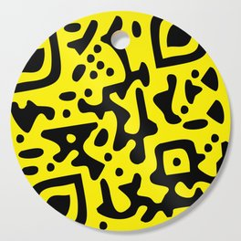 QR Clothes Yellow - Accessories Cutting Board