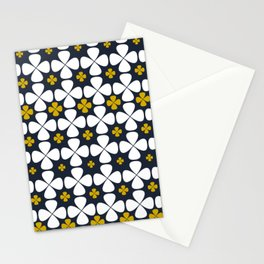 At home: geometric flowers, 70th Lifestyle Stationery Cards