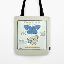 Adonis Blue (Bellargus Lysandra) Tote Bag