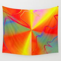 carnival Wall Tapestries featuring Carnival by Awesome Palette