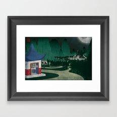Four of Seven Framed Art Print