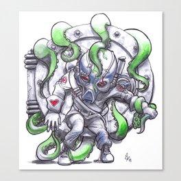 Candy-Trooper, Under Pressure Canvas Print