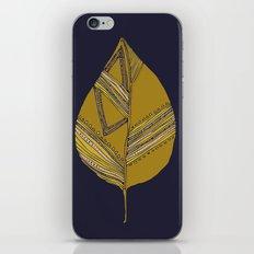 pattern leaf iPhone & iPod Skin