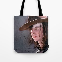 Carl Grimes Before The Fall - The Walking Dead Tote Bag
