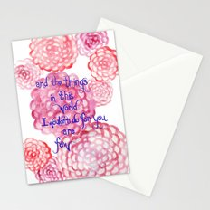 Few Stationery Cards