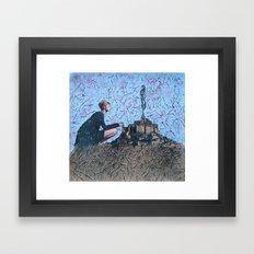 Comparettia Framed Art Print