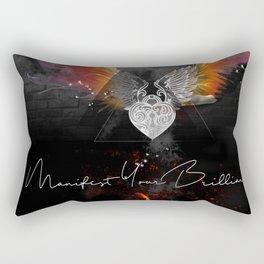 Manifest Your Brilliance Rectangular Pillow