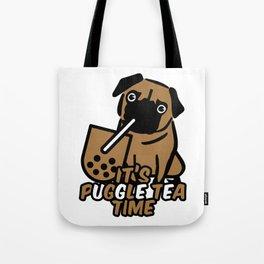 It's Puggle Tea Time Tote Bag