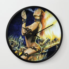 Incinerator Wall Clock