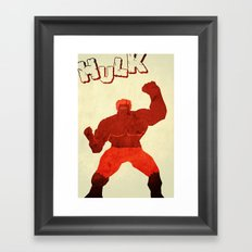 The Avengers Hulk Framed Art Print
