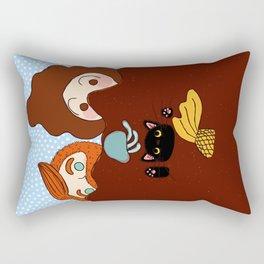 Alien Spotted! Rectangular Pillow