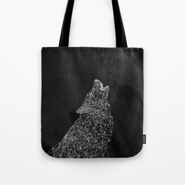 Midnight Wolf Tote Bag