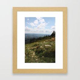 Mount Greylock II Framed Art Print