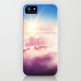 Tenerife. Mountain sunset. View from the Teide National Park. iPhone Case