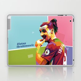 Zlatan Ibrahimovic alt-color WPAP Laptop & iPad Skin
