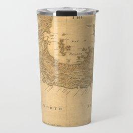 Vintage Map of Panama (1800) Travel Mug