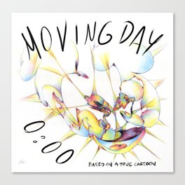Moving Day 0:00 Canvas Print
